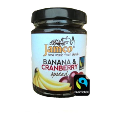 Jamco Banana and Cranberry Spread