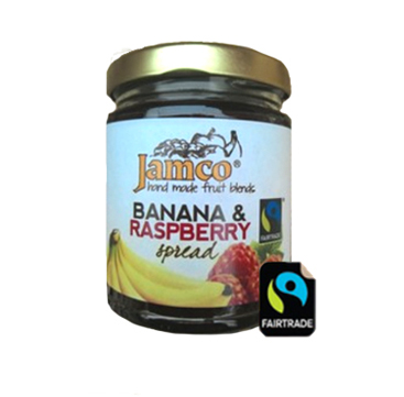 Jamco Banana and Raspberry Spread