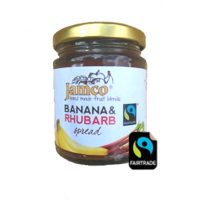 Jamco Banana and Rhubarb Spread