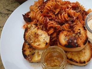 Classic Tomato Sauce Fusilli Pasta
