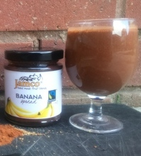 Dark Choco Flaxseeds Jamco Banana Smoothie