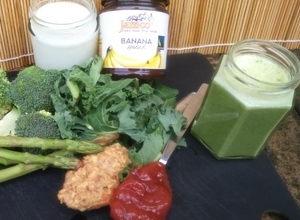 Green Veggies Jamco Banana Smoothie